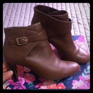 Brown Banana Republic Booties- size 7